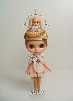 Sad Susan ooak headpiece for Blythe Kenner & Neo dolls by Yatabazah