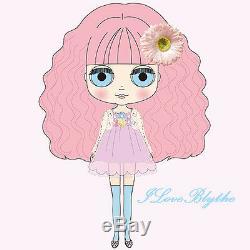 Takara CWC 12 Neo Blythe Doll Charlotte des Fleurs