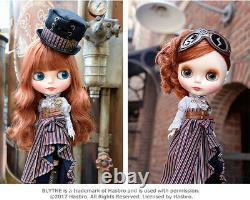 Takara Hasbro CWC Neo Blythe doll Shelley Victorian NUDE DOLL ONLY