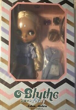 Takara Limited Neo Blythe Doll Asha Alvira, New in Box US Seller