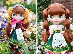 Takara NEW 12 NEO Limited Blythe Doll Joanna Gentiana Figure