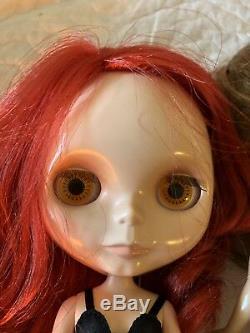 Takara Neo Blythe Cinnmon Girl Rouge Noir