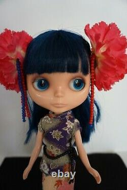 Takara Neo Blythe Doll Asian Flower with Box Used US