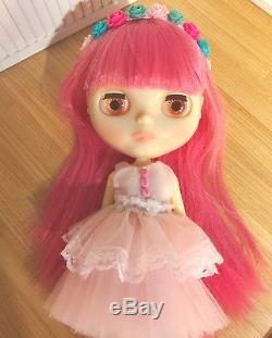 Takara Neo Blythe Doll Penny Precious Translucent RBL EUC With Box & Takara Box