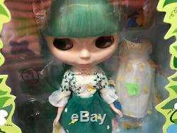Takara Neo Blythe Enchanted Petal green hair cream and lace NRFB New