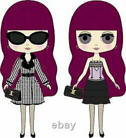 Takara Tomy Doll Neo Blythe, Natasha Moore dress and coat style From Japan