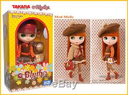 Takara Tomy Neo 12 Blythe Doll Mod Molly CWC Exclusive