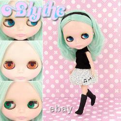 Takara Tomy Neo 12 Blythe Doll Simply Peppermint Green 1pc