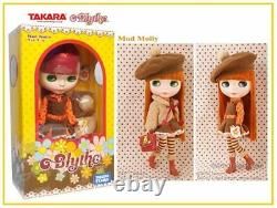 Takara Tomy Neo Blythe Doll, Mod Molly With Beret Hat From Japan