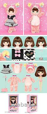 Top Shop Exclusive Takara Hasbro Neo Blythe doll pink bear Cherie Babette