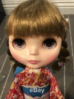 Used Customized CWC Hasbro 12 Neo Blythe Doll Slow Nimes