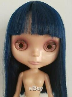 Used Nude Neo Blythe Doll EBL Asian Butterfly
