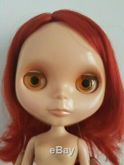 Used Nude Neo Blythe Doll EBL Rouge Noir